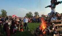 Slet čarodějnic na pražské Ladronce přilákal 16000 návštěvníků!