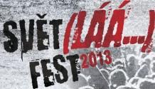 Vstupenky na festival SVĚT(LÁÁÁ…)FEST 2013 již v prodeji!
