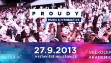 PROUDY 2013 – multimediální festival propukne v pátek!