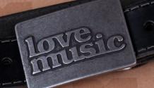 Lovemusic představuje novou edici opasků s originálními sponami!