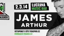 Do ČR přijede britský vítěz X-factoru James Arthur!