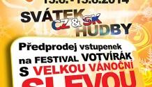 Předprodej na Votvírák 2014 zahájen!
