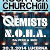 Zimní Rock For Churchill 2014! Svou návštěvou nás poctí The Qemists a N.O.H.A.