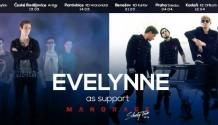 Evelynne jako support Siluety Tour kapely Mandrage!