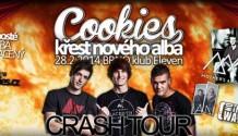 Přijďte si užít hvězdný večer na křest kapely Cookies!