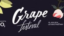 Grape Festival odhalil první jména!