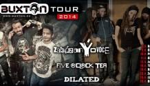 BUXTON TOUR 2014 SERVÍRUJE zakázanÝovoce A FIVE O'CLOCK TEA!