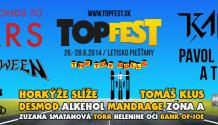 Festival Topfest tento rok privíta množstvo hudobných legiend!