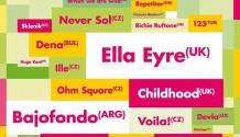 Kudrnatá divoška Ella Eyre zavítá na United Islands!