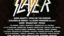 SLAYER potvrzen jako headliner festivalu BRUTAL ASSAULT 2014!