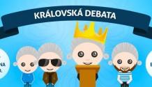 Vkrálovské debatě se utkají všichni kandidáti a představí jejich program!