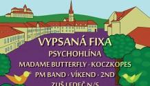 Městské slavností v Ledči lákají na Vypsanou fiXu, ledečské kapely, ale také na bohatý program pro děti!