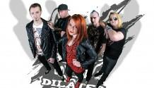 Čtyři kluci za večer nejsou pro sexy herečku ve videoklipu kapely DILATED žádnej problém!