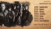 Divokej Bill vyráží na Akustický turné začínají v půli listopadu!