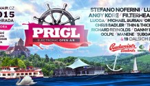 Prigl open air festival již tuto sobotu na Brněnské přehradě!