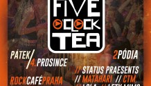 FIVE O'CLOCK TEA OSLAVÍ 10 LET!
