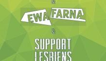 Ewa Farna, Support Lesbiens a Nebe na společném turné!