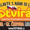 Festival Votvírák se chystá na jeho JUBILEJNÍ 10. ročník!