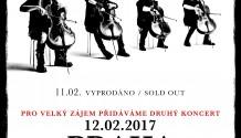 APOCALYPTICA vyprodala pražský koncert v Karlíně, pro velký zájem přidává další