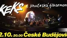 KEKS vystoupí s filharmonií v Českých Budějovicích