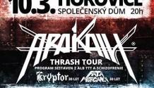 Druhý březnový metalový víkend v Hořovicích!