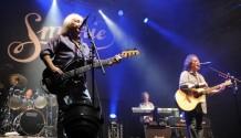 Legenda Smokie vystoupila v Lucerně s kapelou Keks