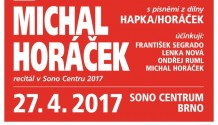 Žádaný recitál Mezi námi Michala Horáčka se vrací do Brna!