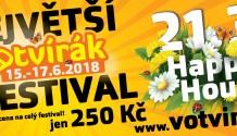 Jarní Happy Hours festivalu Votvírák  nabídnou speciální slevu!