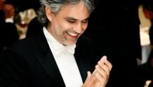 Hvězda tenoru Andrea Bocelli vystoupí v sobotu v Praze!