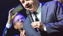 Během koncertu Pražského výběru promluvil slovenský prezident