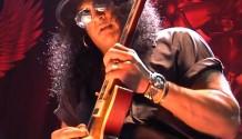 SLASH opět předvedl v Praze svoje kytarové kvality