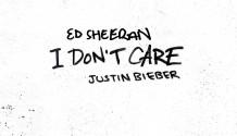 Zpěvák ED SHEERAN vydal nový singl I Don't Care. Na nahrávce s ním spolupracuje Justin Bieber!