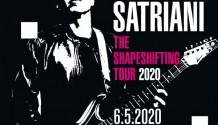Joe Satriani vystoupí v květnu v Praze s novým albem