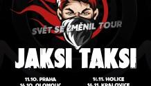 """Kapely zakázanÝovoce a Jaksi Taksi odstartují na podzim turné s názvem """"Svět se změnil"""""""