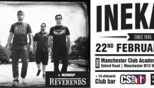 V Anglii si Reverends zahrají se slovenskou kapelou Ine Kafe!