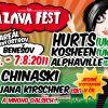 Sobotní program Sázavafestu slibuje hudební bonbónky!