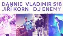 Dannie, DJ Enemy, Jiří Korn a Vladimir 518 spojili své světy v Grandhotelu