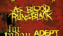 Core-večer v Exitu: Caliban, As Blood Runs Black, For Today!