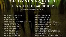 A Banquet vyráží na středoevropské turné!