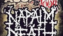 NAPALM DEATH přijedou v rámci BRUTAL ASSAULT TOUR 2012 do Česko-Slovenska