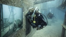 The Underwater exhibition