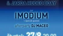Imodium zahrají na iReport night!