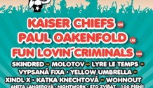 Megastar Kaiser Chiefs vystoupí na Sázavafestu!