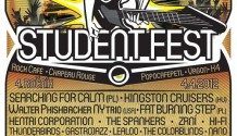 Student Fest 2012 odhaluje svůj program a vyhlašuje Soutěž  studentských kapel!
