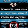 Druhý ročník volyňské Summer Punk Párty láká na Staré pušky nebo All Faces Down!