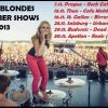 DIRTY BLONDES ROZJÍŽDÍ NOVEMBER SHOWS!