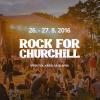 Rock For Churchill již příští víkend!