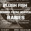 Farler´s Fury, Plush Fish, Bombs From Heaven a Rabies v Brně!