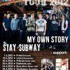 My Own Story a Stay Subway vyráží na společné LIFE & PARTY TOUR 2012!