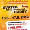 Svátek česko-slovenské hudby festival Votvírák 2012 – zahajuje zvýhodněný vánoční předprodej!